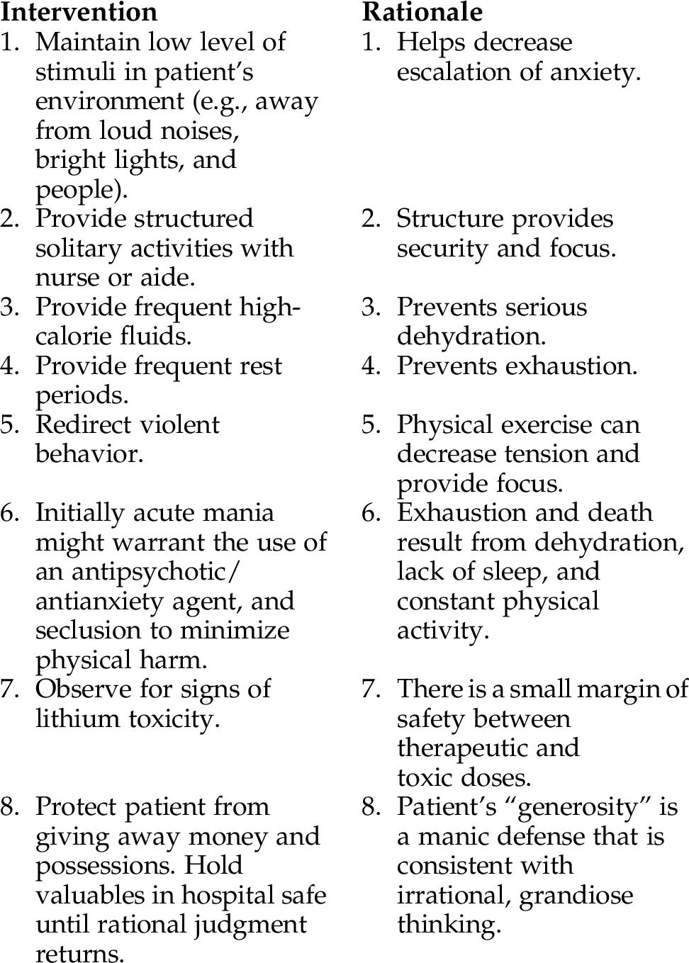 8: Bipolar Spectrum Disorders | Nurse Key